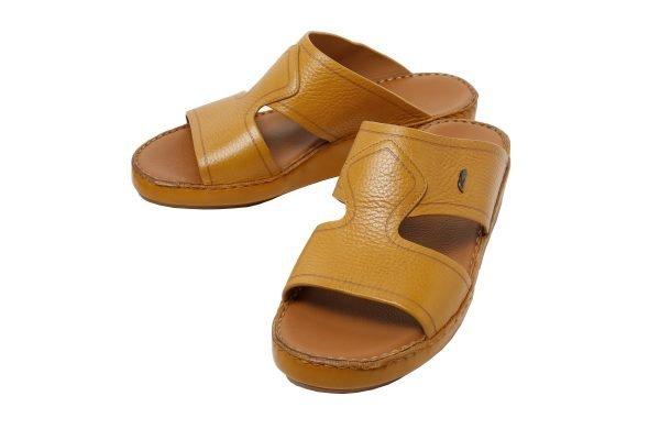 Albatar men arabian sandal Royale ocher