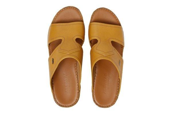 Albatar men arabian sandal Royale ocher top