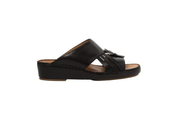 albatar men arabian sandal voyager black side