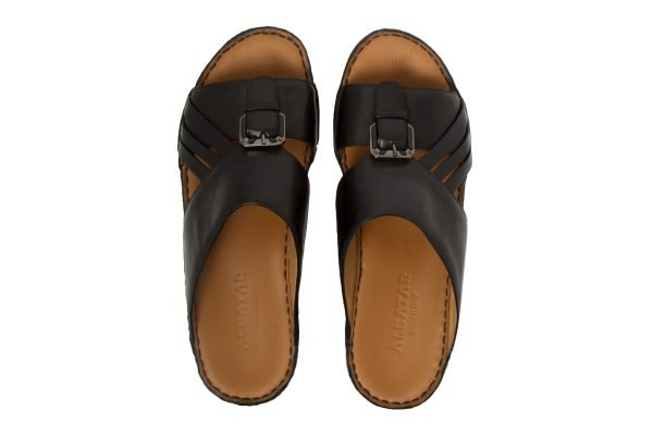 albatar men arabian sandal voyager black top