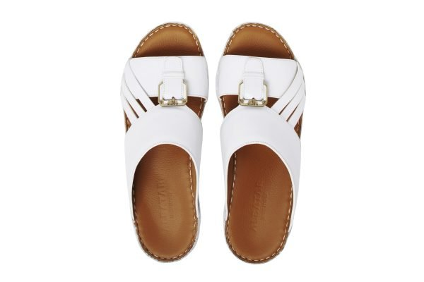 albatar men arabian sandal voyager white top