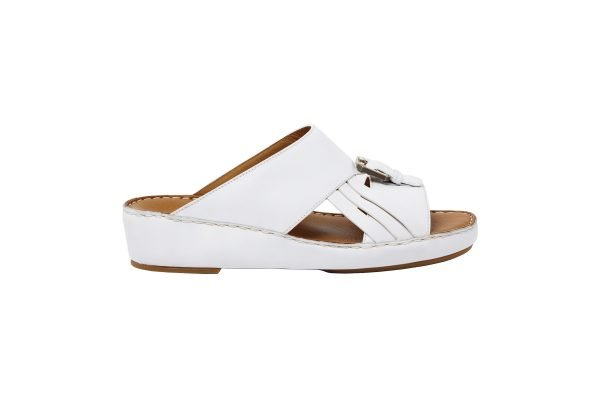 albatar men arabian sandal voyager white side